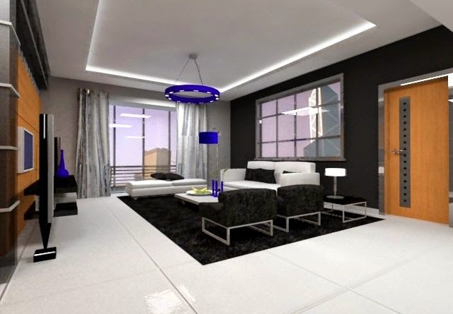 Departamento moderno de l neas rectas arquitexs for Decoracion de departamentos minimalistas