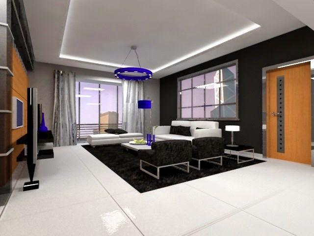 Departamento moderno de l neas rectas arquitexs for Departamentos decorados estilo minimalista