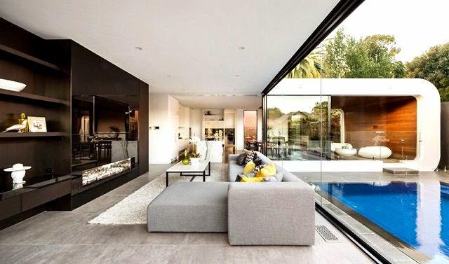 Moderna ampliacion en una casa Patrimonio