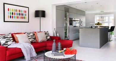 15 cocinas blancas de estilo minimalista arquitexs for Casa minimalista rojo