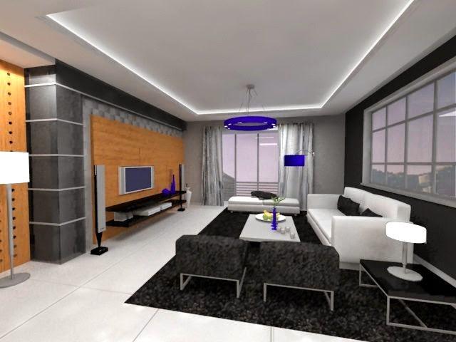 Departamento moderno estilo minimalista