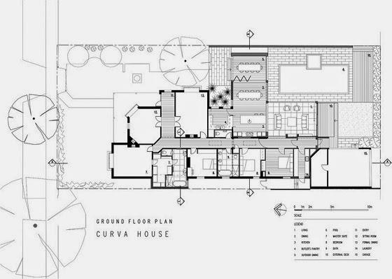 Moderna ampliacion en una casa patrimonio arquitexs for Piscina walker martinez