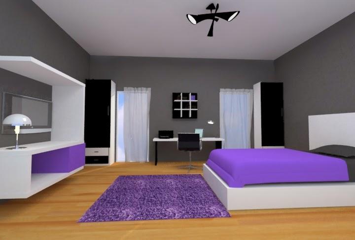 Dormitorio para adolescente en rojo for Dormitorios para ninas adolescentes