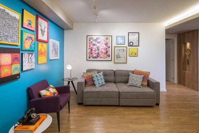 Apartamento moderno en 70 m2 arquitexs for Decoracion para apartamentos modernos