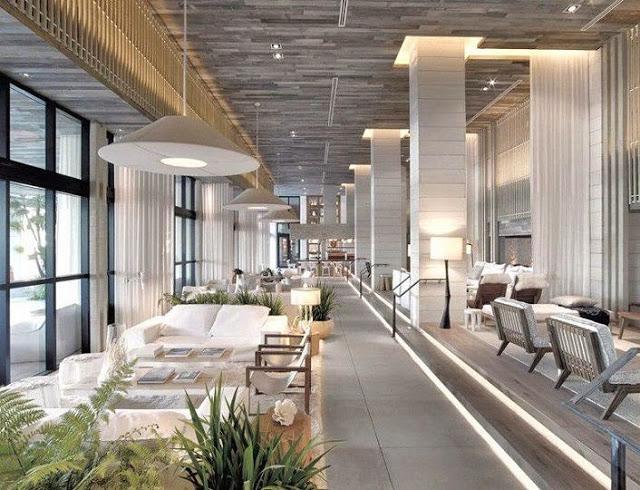 comedor-Hotel South Beach en Miami, Florida