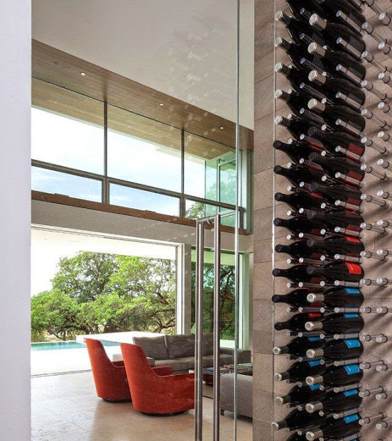 Casa moderna en un vi edo de california arquitexs - Bodegas en casa ...