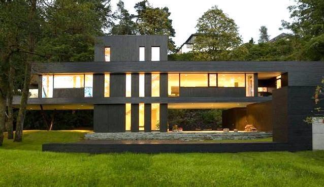 Casa de un arquitecto en bergen noruega arquitexs for Casa contemporanea