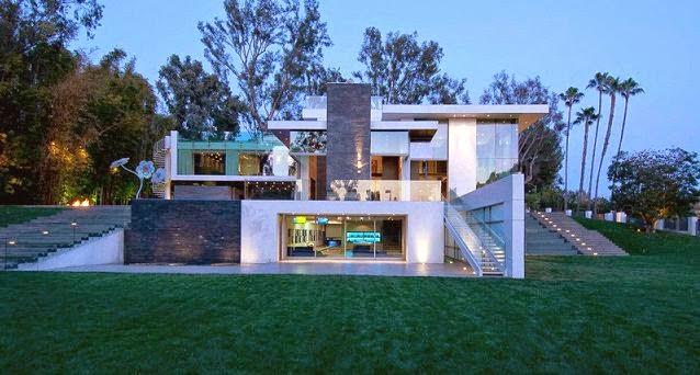 La casa de la cumbre beverly hills california arquitexs - Casas de lujo modernas ...