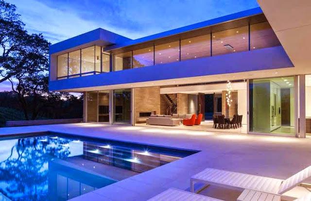 casa-moderna-piscina-california