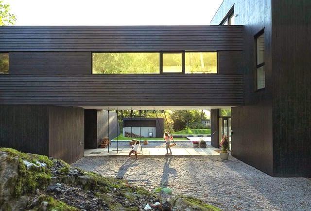 Casa de un arquitecto en bergen noruega arquitexs for Arquitectos de la arquitectura moderna