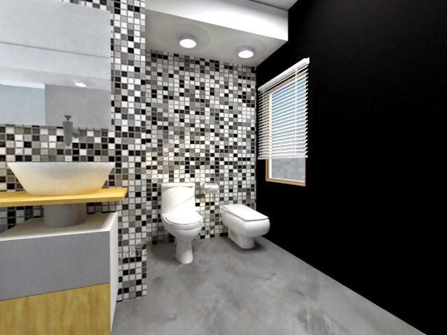 Dise ar ba os modernos y coloridos arquitexs - Banos con estilo moderno ...