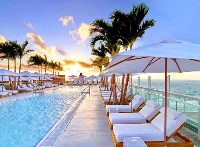 Hotel South Beach en Miami, Florida