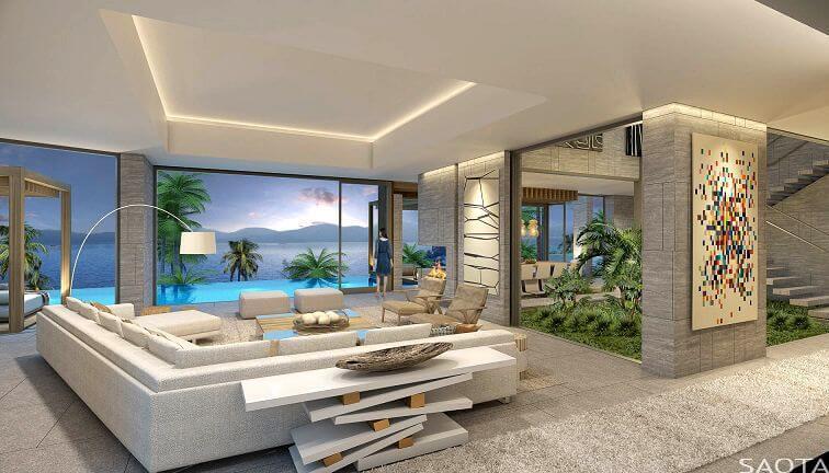 Casa hk bbq gardens dise o en cascada - Apartamentos en hong kong ...