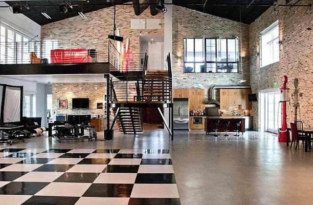 Dise o de interiores for Muebles industrial loft