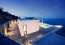 Villa Melana moderna casa de campo revestida en piedra, Grecia