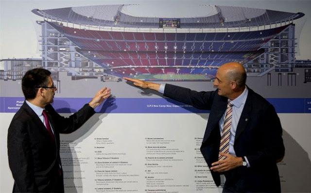 Concurso de arquitectura para remodelar el Camp Nou