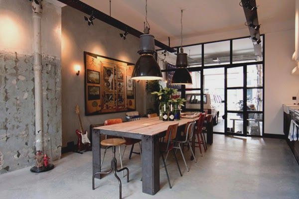 Decorar tu Loft estilo industrial