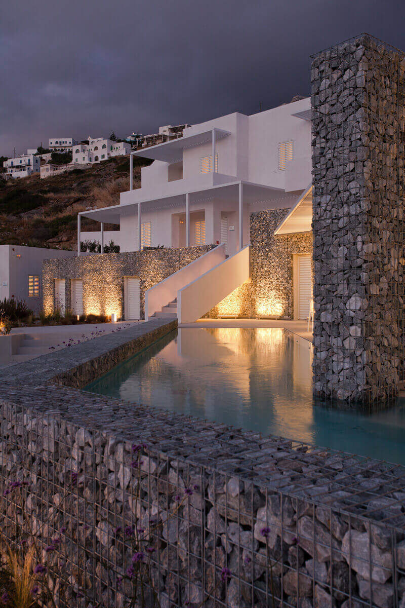 arquitectura, hotel, grecia