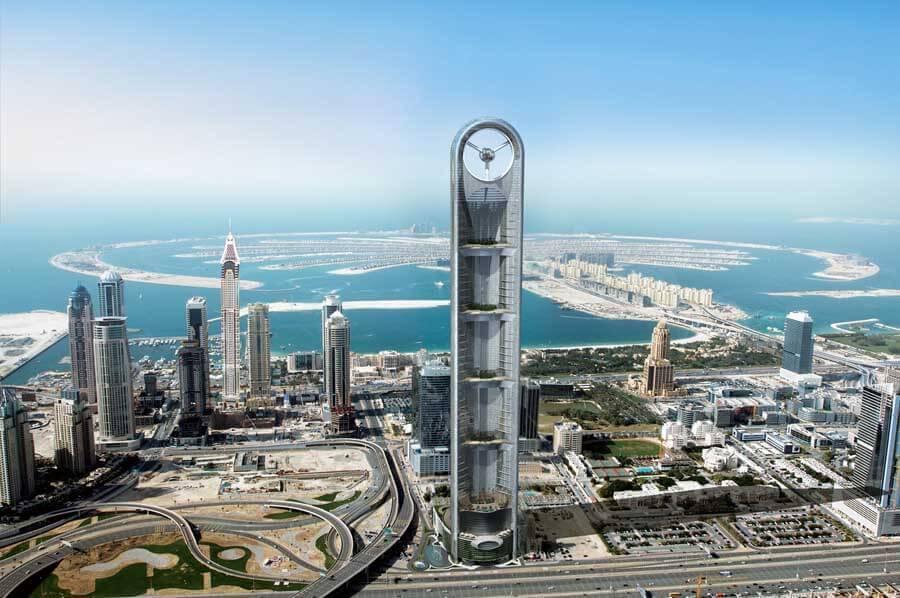Rascacielos en Dubái