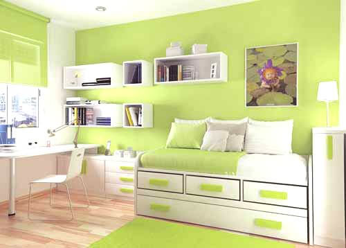 paredes-verdes-habitaciones-infantiles