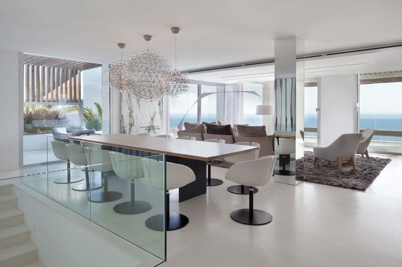 decoracion minimalista casa ibiza
