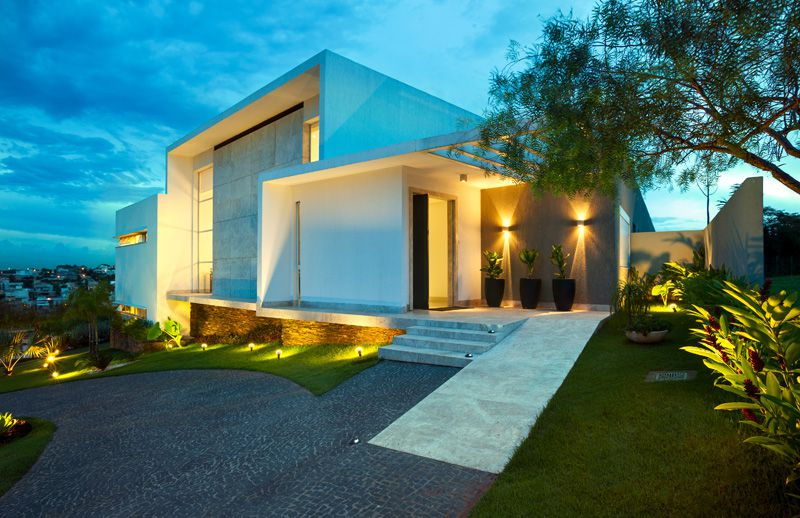 casa moderna en la ladera arquitexs