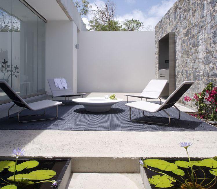 Casa moderna minimalista en hamilton island for Casa moderna minimalista