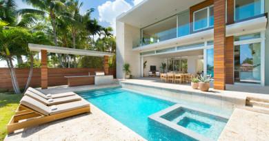 Casa moderna Di Lido Island Miami Beach, Florida