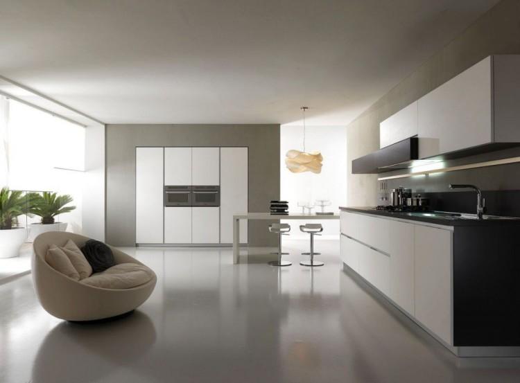 cocina-minimalista Cocinas modernas pequeñas