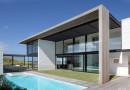 Casa de playa minimalista en Nueva Zelanda