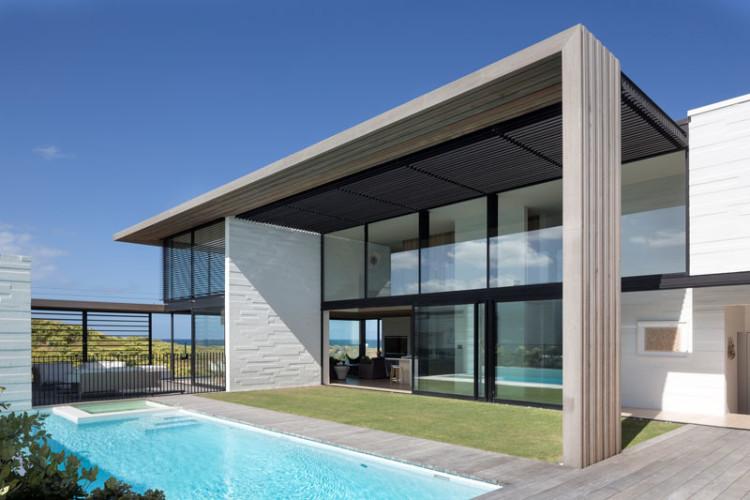 casa de playa minimalista en nueva zelanda arquitexs