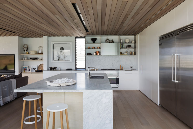 cocina-isla-comedor-minimalista | ArQuitexs