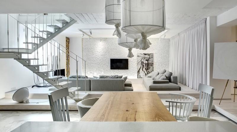 Reforma y decoraci n de un apartamento d plex arquitexs for Adornos para departamentos modernos