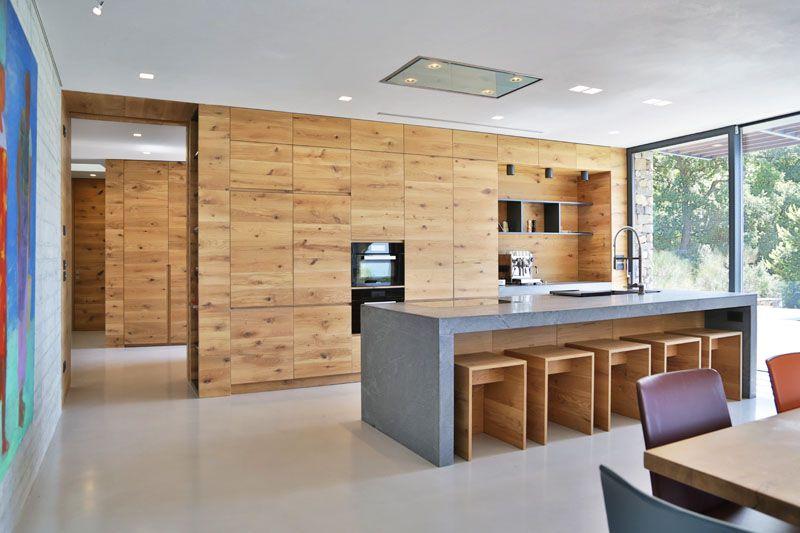 cocina-isla-decoracion-madera