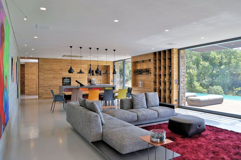 decoracion-sala-madera