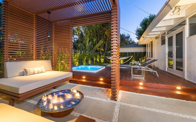 25 jardines y terrazas con encanto arquitexs for Iluminacion terraza
