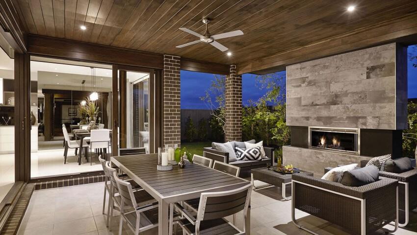 25 jardines y terrazas con encanto arquitexs - Terraza con barbacoa ...