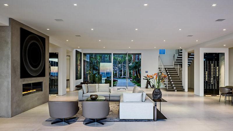 Moderna casa en malibu con vistas al mar arquitexs for Decoracion interior casa