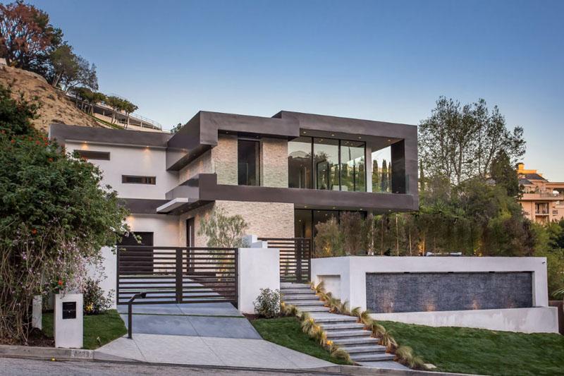 Casa moderna en las colinas de hollywood los ngeles - Casas de lujo en bilbao ...