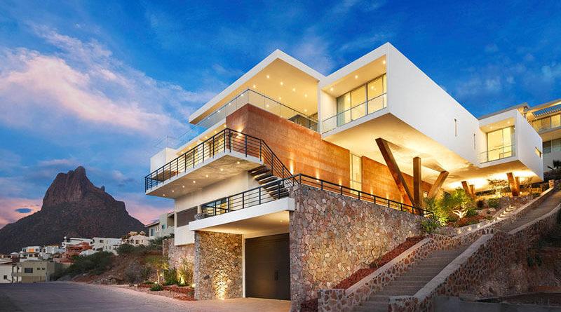 Casa moderna con vistas al mar en m xico arquitexs for Decoracion de casas de playa modernas