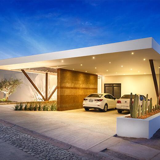 Casa moderna con vistas al mar en m xico arquitexs for Casa moderna habbolandia