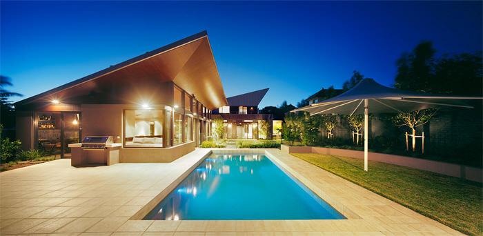 35 fotos de fachadas de casas modernas arquitexs - Casas modernas una planta ...