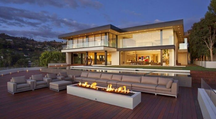 35 fotos de fachadas de casas modernas arquitexs for Luxury home designs usa