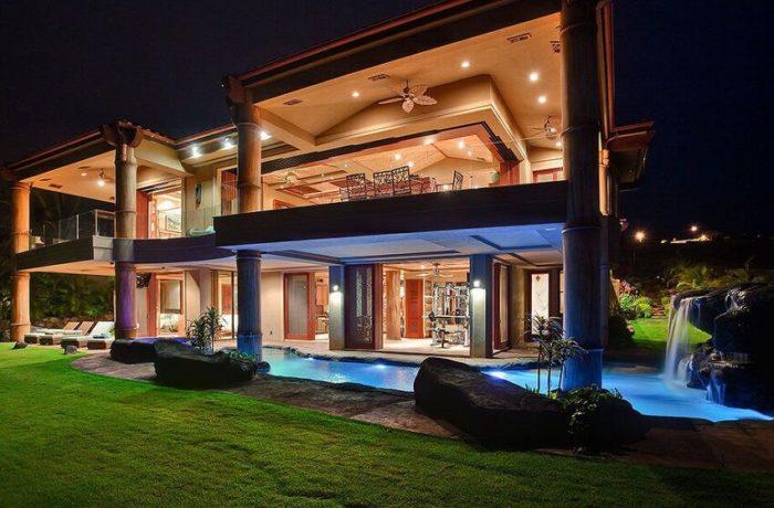 35 fotos de fachadas de casas modernas arquitexs for Fachada de casas modernas y bonitas
