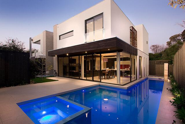 casas modernas venta