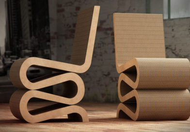 Silla Wiggle Side Chair de Frank Gehry