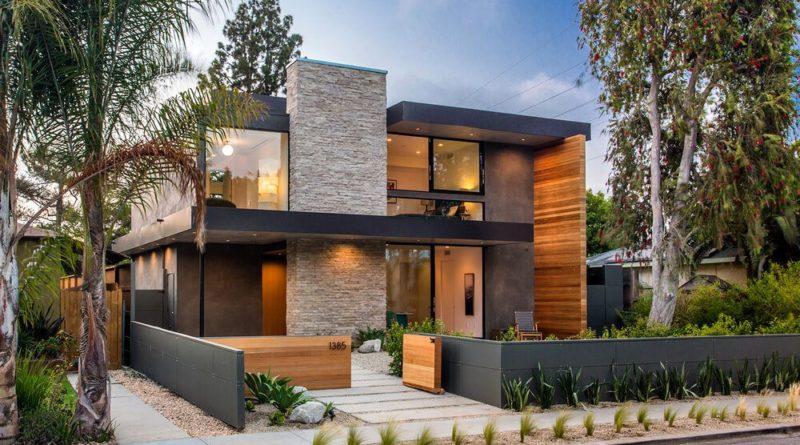 Casa moderna palms residence en venice beach los ngeles for Fachadas de casas contemporaneas modernas