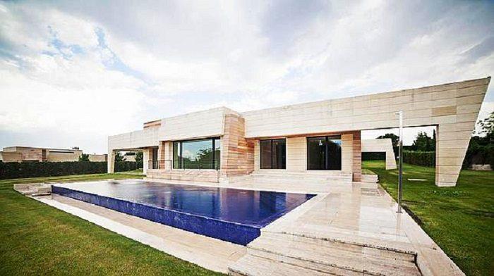 Casa de lujo de cristiano ronaldo en madrid arquitexs - Fotos de la casa de cristiano ronaldo ...