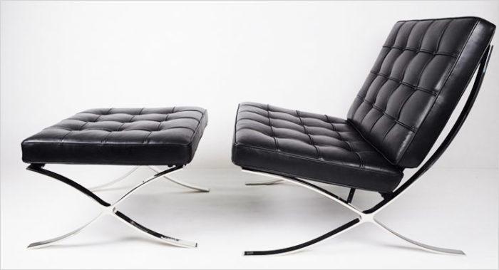 Las 18 sillas dise adas por arquitectos famosos arquitexs - Silla barcelona mies van der rohe ...
