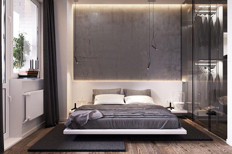 decoracion-habitacion-gris-estilo-industrial
